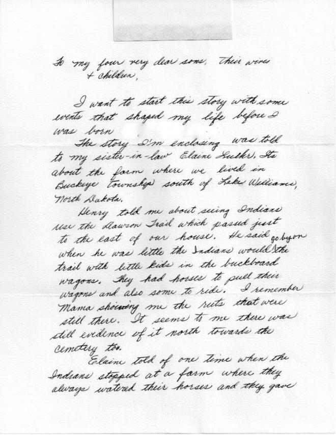Grace Letter 001