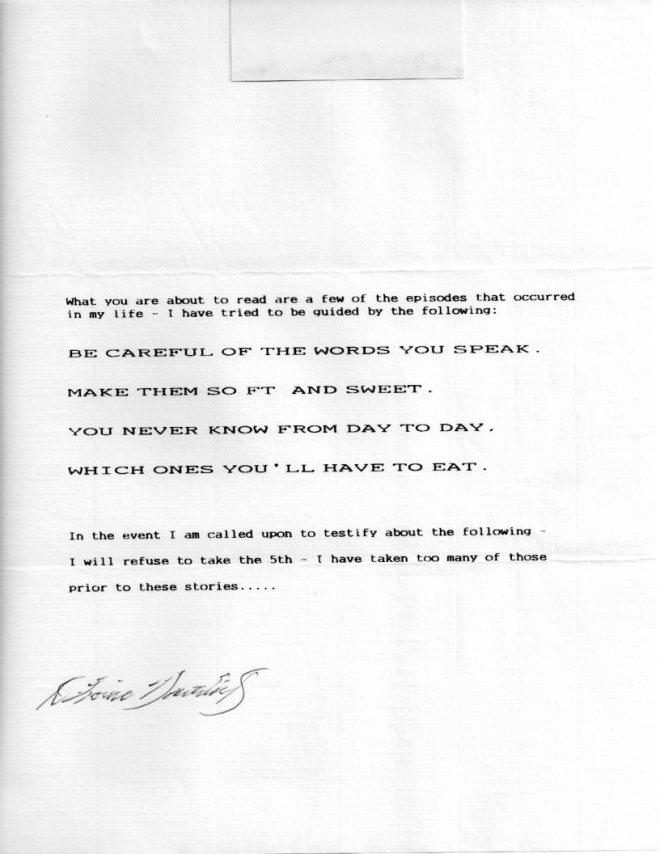 Louie Letter 001