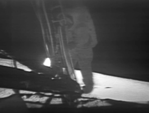 Neil Armstrong at Tranquility Base