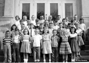 Ms Fairless' class, 1956, Guy's in the second row, second from the right.