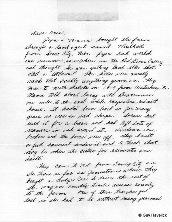 Grace Letter 003