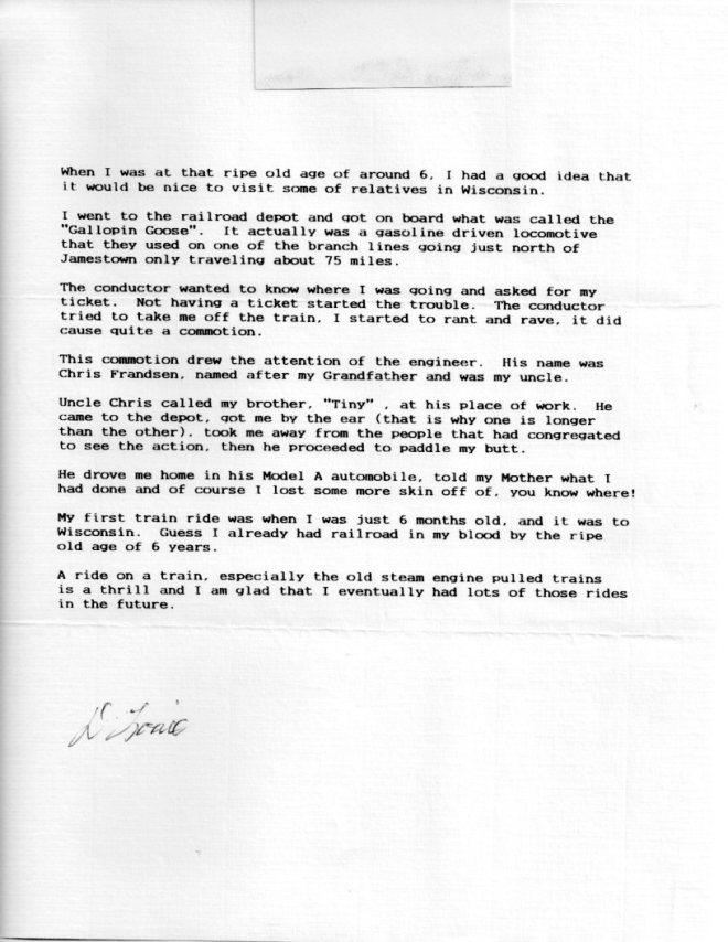 Louie Letter 003