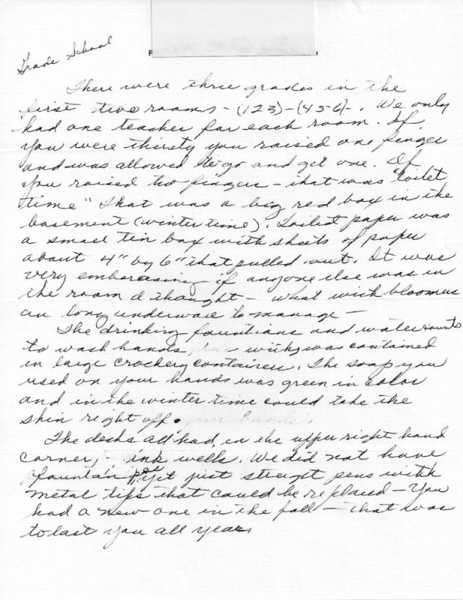 Grade School - page 1