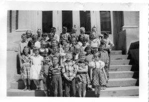 Franklin School Grade 1 - 1956 - Jamestown, ND