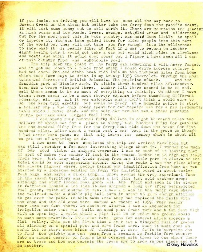 Alaska Page Two