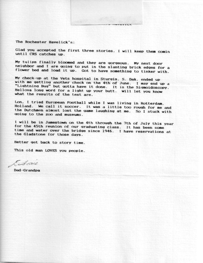 Louie Letter 005