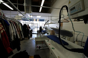 Dry cleaning operation similar to the Spot Shop