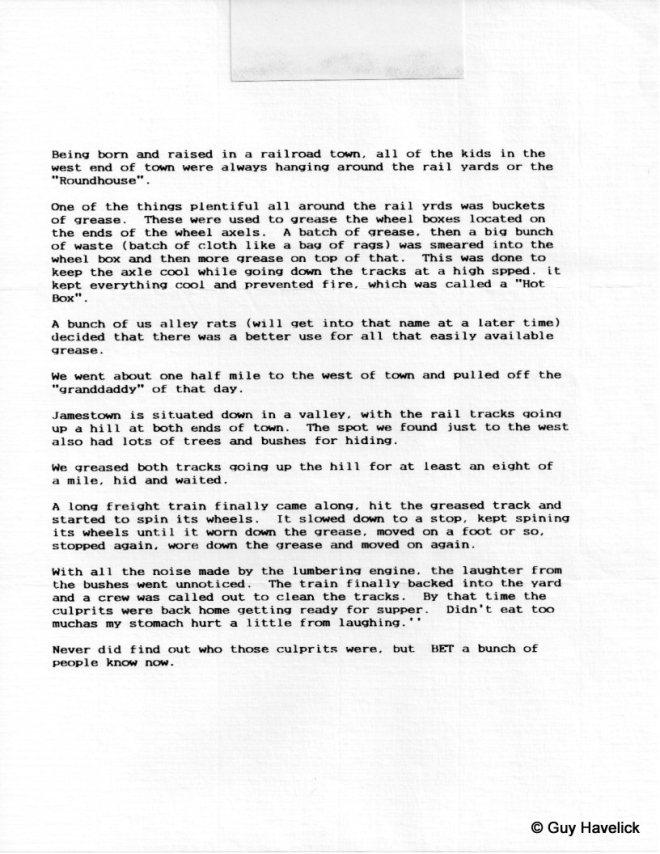 Louie Letter 010