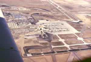 Stapleton International Airport in 1966