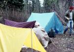 Camping near Flin Flon