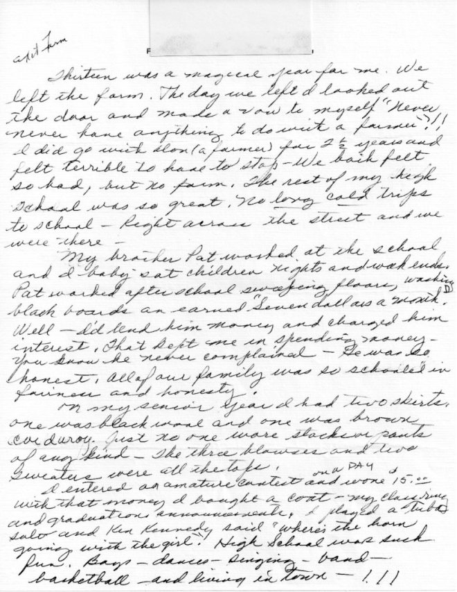 Lucy Letter 023