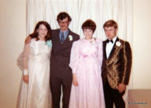 Judy & Guy at Prom in 1970