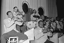 Duke Ellington's band at the Crystal Ballroom in Fargo