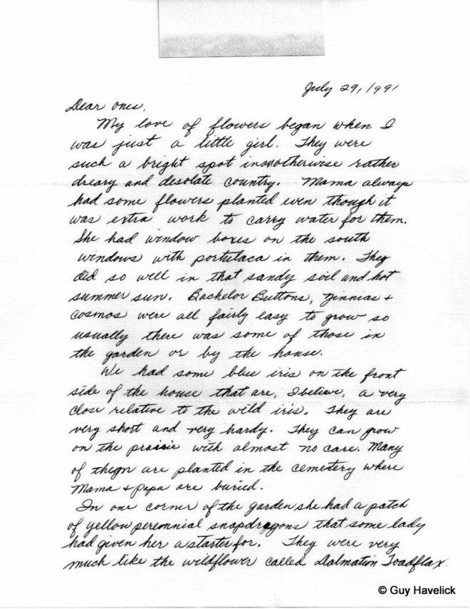 Grace Letter 022