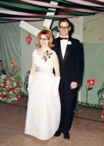 Joyce & Guy - Prom 1967