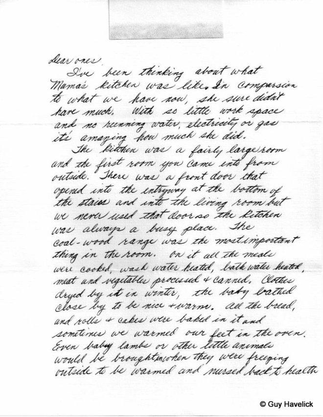 Grace Letter 030