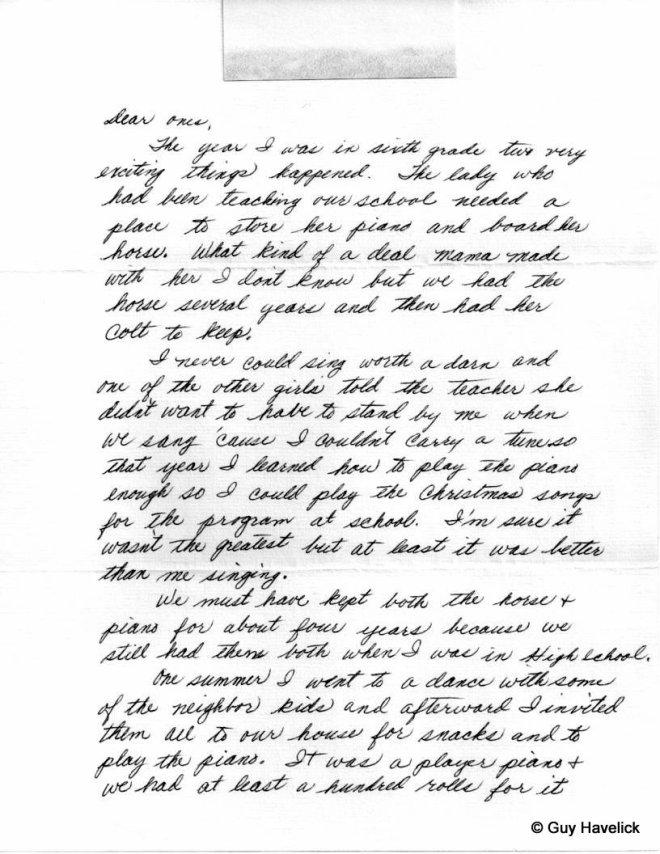 Grace Letter 038