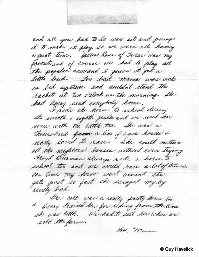 Grace Letter 039