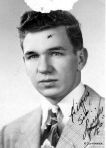 Louie in 1946. High School Graduation.