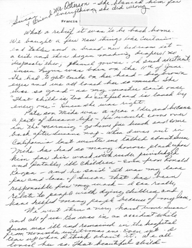 Lucy Letter 030