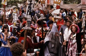 The King's Parade in the 1980's.
