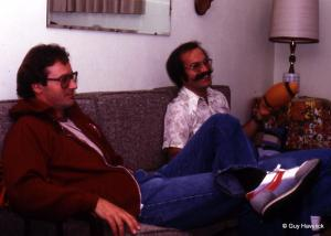 Pat and Grant Knowlen at Fanny's, 1980.