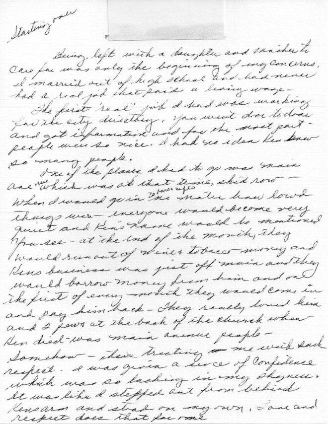 Lucy Letter 036