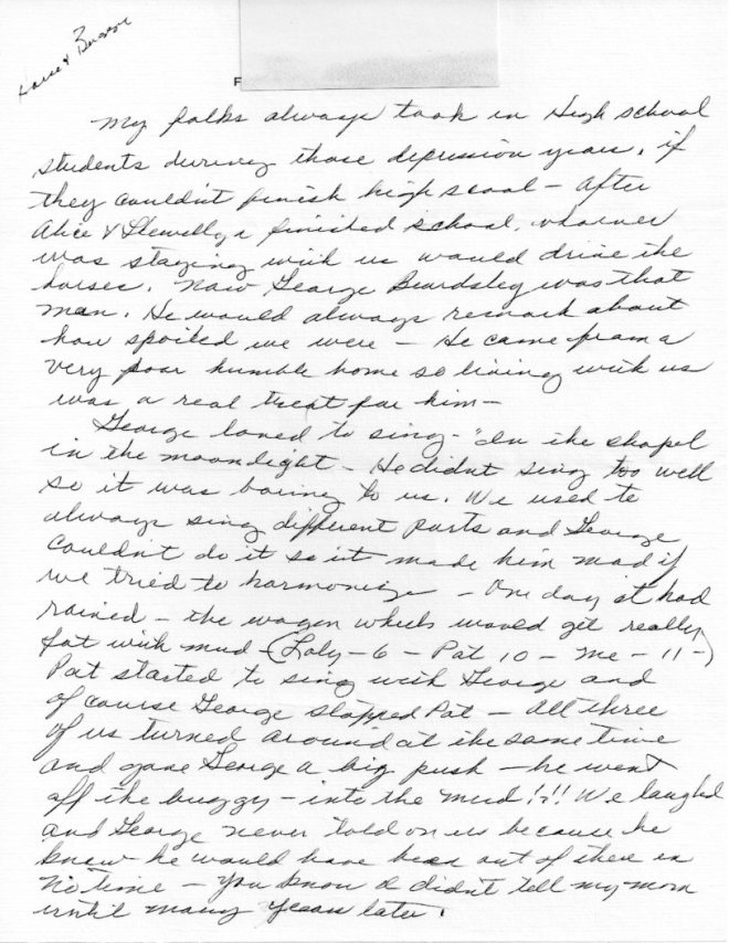 Lucy Letter 037