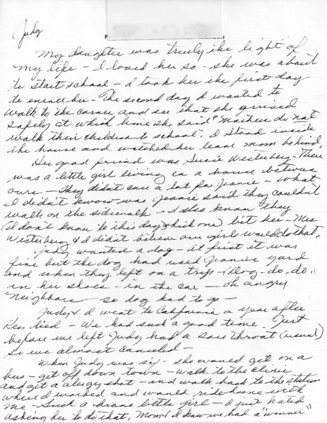 Lucy Letter 040