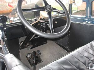 Ford Model T controls
