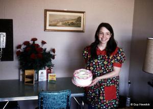 Judy's birthday at NDSU Bison Court