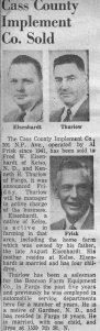 Fargo Forum, April 1956
