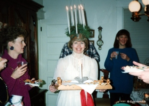 Christine as Sta Lucia
