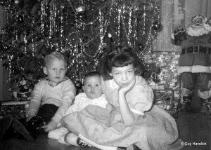 Judy (R) Christmas 1959