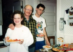 Mara, Jim and Lon. c. 1992
