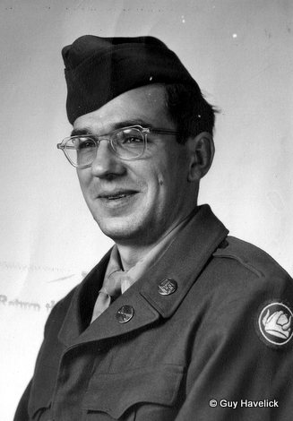 Louie Havelick, US Army, 1952